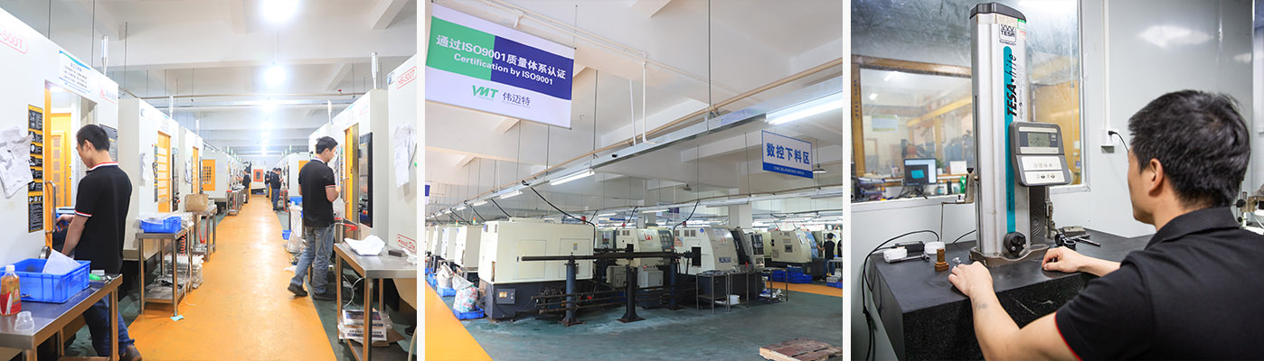 CNC small batch prototype machining plant in China
