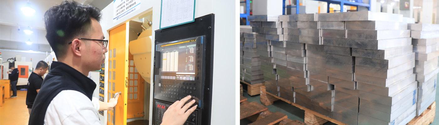 CNC machining manufacturers
