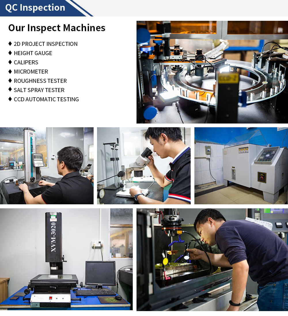 5 axis CNC machining parts qc inspection