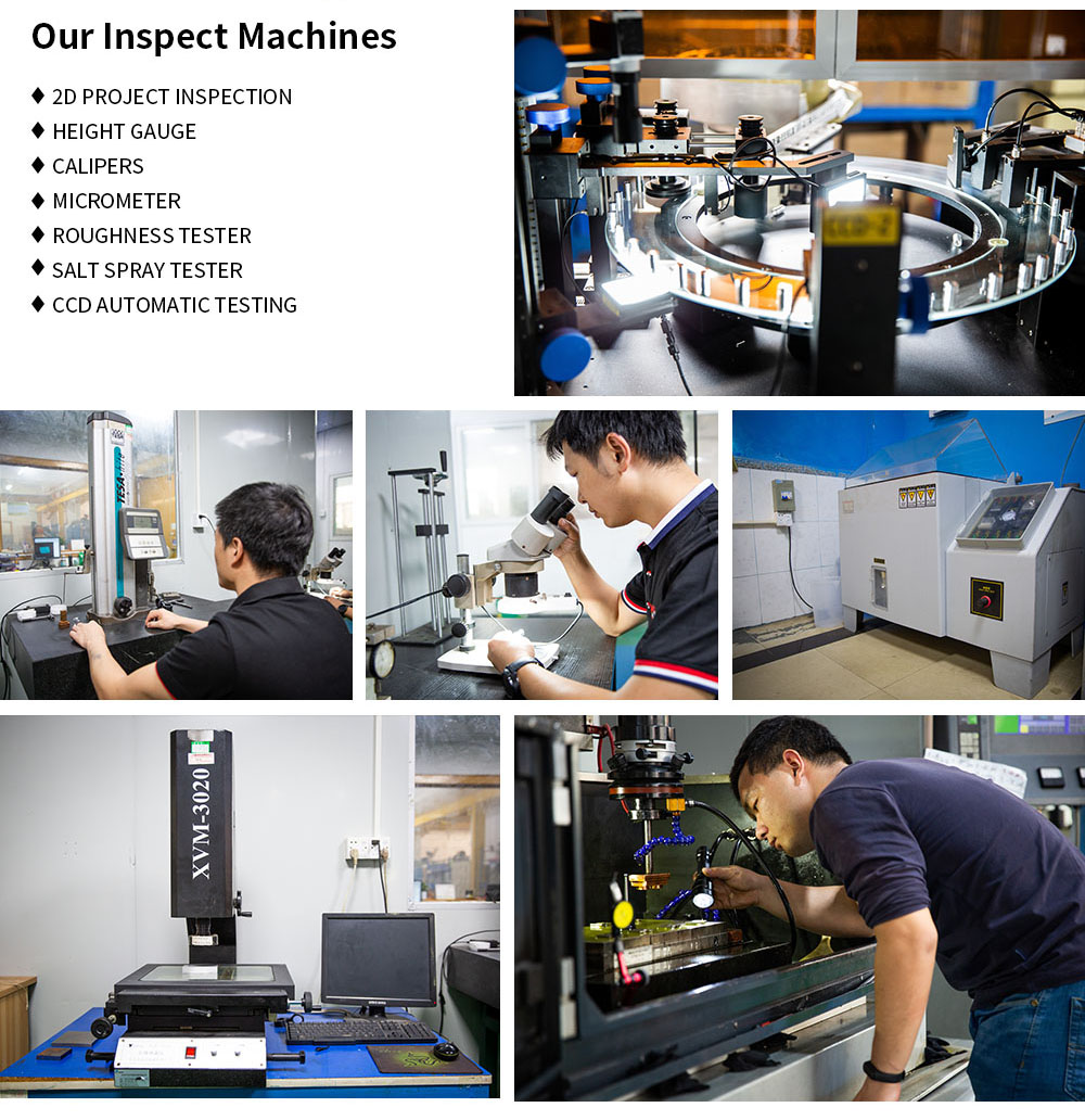 Customized processing herb weed grinder QC inspection