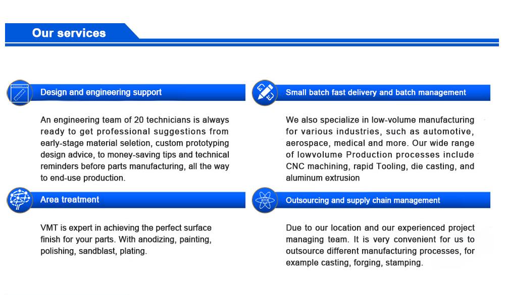 5 axis CNC machining parts